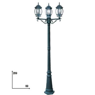 Fan Europe Standleuchte Außenbeleuchtung A Drei Lichter E27, 40W, grün, 209x 69 - 1
