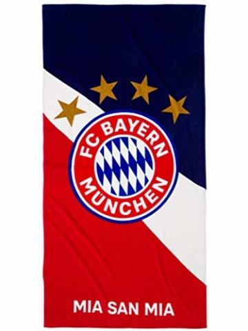 FC Bayern München Strandtuch Logo - 1