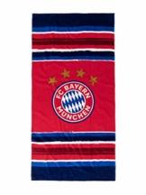 FC Bayern München Strandtuch Stripes 150 x 75cm - 1