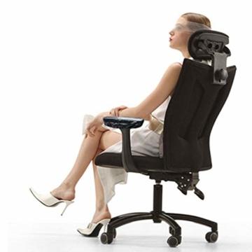 Fefaxi Armpolster, Ellbogenhalterung Ellbogenpolster Schaumstoff Armlehne Memory Chair Bürostuhl Spielstuhl Armpolster - 8
