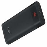 FOXONU 26800mAh Powerbank, Externer Akku Mit LED Digital Display Power Bank, Hohe Kapazität mit 2 Eingänge und 2 USB Ausgänge für Handy, iPhone, iPad, Samsung Galaxy und Tablet - 1