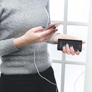 FOXONU 26800mAh Powerbank, Externer Akku Mit LED Digital Display Power Bank, Hohe Kapazität mit 2 Eingänge und 2 USB Ausgänge für Handy, iPhone, iPad, Samsung Galaxy und Tablet - 7