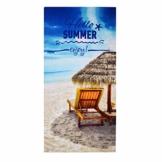 Geezy, großes Mikrofaser-Strand-Badetuch, leicht, Sport, Reisen, Fitnessstudio, Sommer-Handtücher Hallo Sommer - 1