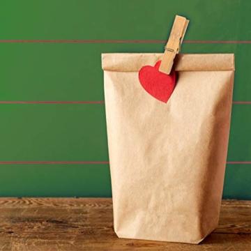 greenli 50 x Wäscheklammern aus Bambus- 6 cm - Die nachhaltige Alternative zu Holzklammern - 5