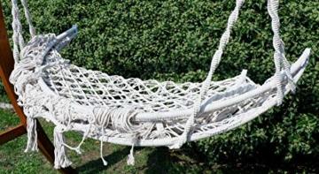 Hängesessel Hängelounger Doppellounger Lounge für 2 Personen Maui mit vielen Kissen klappbar inkl. Hollywoodschaukel - Gestell Aruba mit Dach von AS-S - 8