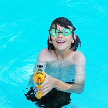 infinitoo 2 Stück Wasserpistole Spritzpistolen Set 200ml Water Gun mit 8-10 Meter Reichweite Blaster Spielzeug für Kinder Party Strand Pool etc. - 6