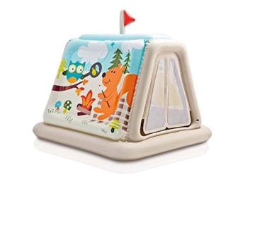 Intex Animal Trails Indoor Play Tent - Aufblasbares Spielzelt - 127 x 112 x 116 cm - 1
