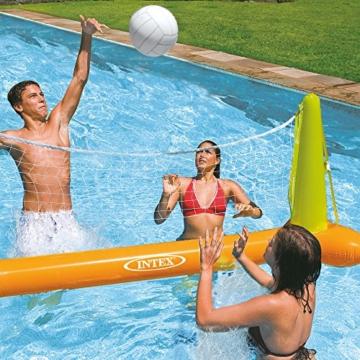 Intex Pool Volleybal Game - Aufblasbares Wasserballspiel - Volleyballnetz - 239 x 64 x 91 cm - 2