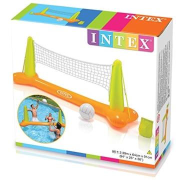 Intex Pool Volleybal Game - Aufblasbares Wasserballspiel - Volleyballnetz - 239 x 64 x 91 cm - 3