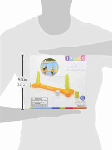 Intex Pool Volleybal Game - Aufblasbares Wasserballspiel - Volleyballnetz - 239 x 64 x 91 cm - 4