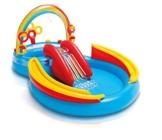 Intex Rainbow Ring Play Center - Kinder Aufstellpool - Planschbecken - 297 x 193 x 135 cm -  Für 3+ Jahre - 1