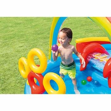 Intex Rainbow Ring Play Center - Kinder Aufstellpool - Planschbecken - 297 x 193 x 135 cm -  Für 3+ Jahre - 4