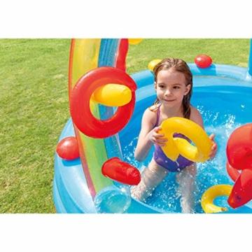 Intex Rainbow Ring Play Center - Kinder Aufstellpool - Planschbecken - 297 x 193 x 135 cm -  Für 3+ Jahre - 5
