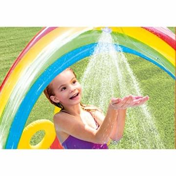 Intex Rainbow Ring Play Center - Kinder Aufstellpool - Planschbecken - 297 x 193 x 135 cm -  Für 3+ Jahre - 6