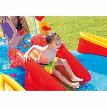 Intex Rainbow Ring Play Center - Kinder Aufstellpool - Planschbecken - 297 x 193 x 135 cm -  Für 3+ Jahre - 7