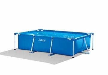 Intex Rectangular Frame Pool -Aufstellpool - 300 x 200 x 75 cm - 1