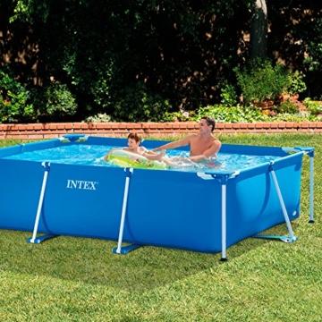 Intex Rectangular Frame Pool -Aufstellpool - 300 x 200 x 75 cm - 2