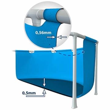 Intex Rectangular Frame Pool -Aufstellpool - 300 x 200 x 75 cm - 4