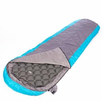 JÖKEL Isomatte Camping, Schlafmatte Leicht kleines packmaß, Aufblasbare Bequem Luftmatratze, Grau Faltbar und Kompakt, Ultraleicht-e, Trag und Klappbar Liegematte, für Outdoor Wandern und Camping - 9