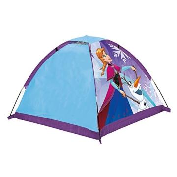John 75108 Kid's Gartenzelt Die Eiskönigin Spielzelt, Campingzelt, Kinderzelt, Outdoorzelt mit gedrucktem Motiv für Kinder, Blau - 2