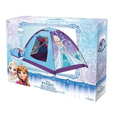 John 75108 Kid's Gartenzelt Die Eiskönigin Spielzelt, Campingzelt, Kinderzelt, Outdoorzelt mit gedrucktem Motiv für Kinder, Blau - 3