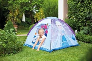 John 75108 Kid's Gartenzelt Die Eiskönigin Spielzelt, Campingzelt, Kinderzelt, Outdoorzelt mit gedrucktem Motiv für Kinder, Blau - 4