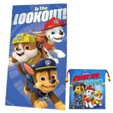 Kids Licensing–pw16305m–Set Strandtuch–Sporttasche–Paw Patrol - 1