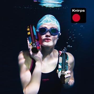 Knirps Taschenschirm X1 Dots – Der kleinste Regenschirm von Knirps – Leicht und sturmfest – Navy Dot - 7