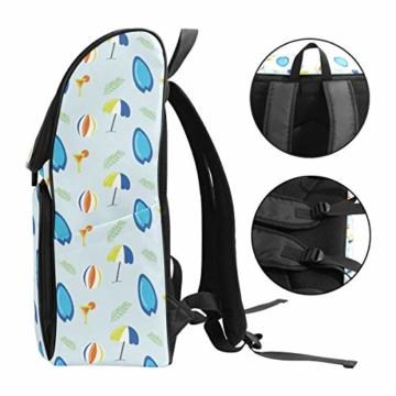 Laptop-Rucksack für den Sommer, Surfbretter, Strandschirm, große Kapazität, Reisetasche - 3