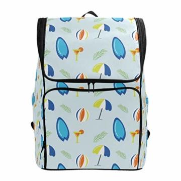 Laptop-Rucksack für den Sommer, Surfbretter, Strandschirm, große Kapazität, Reisetasche - 1