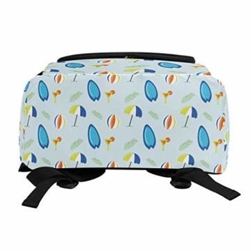 Laptop-Rucksack für den Sommer, Surfbretter, Strandschirm, große Kapazität, Reisetasche - 5