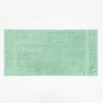 Lumaland Premium 4er Set Handtücher 50 x 100 cm aus 100% Baumwolle 500 g/m² mit Aufhänger eisblau - 2