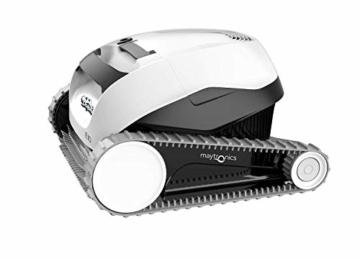 MAYTRONICS Dolphin E10 Automatischer Roboter zur Poolreinigung Tragbar, leicht und einfach zu reinigendes Sauggerät. Ideal für oberirdische Schwimmbäder - 2