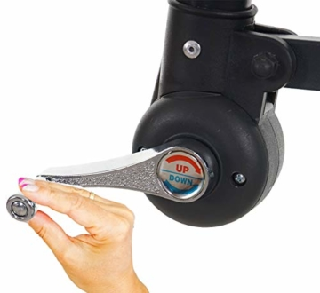 Mendler Ampelschirm Acerra, Sonnenschirm Sonnenschutz, Ø 3m neigbar, Polyester/Stahl 11kg ~ Creme ohne Ständer - 6