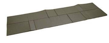 Mil-Tec BW ISO-Matte FALTBAR 190X60X0,5 cm Oliv - 1