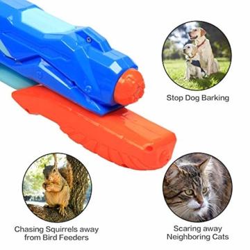 MOZOOSON Wasserpistole Spielzeug für Kinder mit Langer Reichweiter Freezefire für Kinder Mädchen Junge ab 3 Jahr 10-12 Meter Reichweiter 3x300ML für Eiswürfel Geeignet - 7