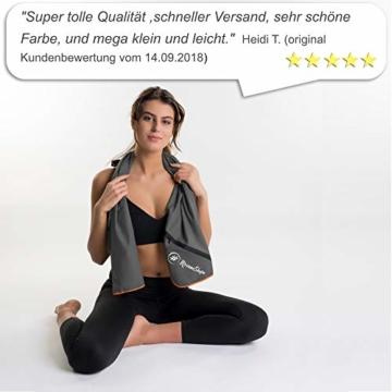 NirvanaShape ® Mikrofaser Handtücher | saugfähig, leicht, schnelltrocknend | Badehandtücher, Reisehandtücher, Sporthandtücher | Ideal für Reisen, Fitness, Yoga, Sauna - 7