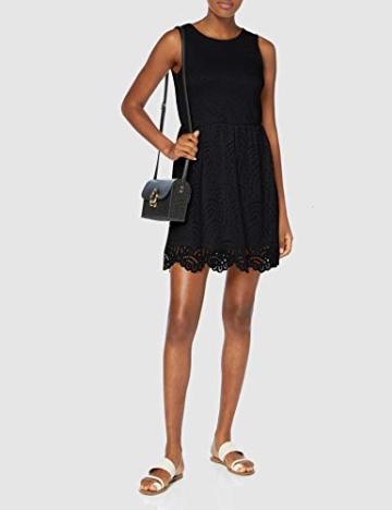 ONLY Damen Onledith S/L Dress JRS Noos Kleid, Schwarz (Black Black), 38 (Herstellergröße: M) - 2