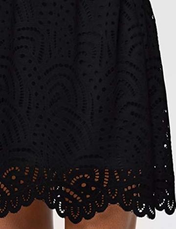 ONLY Damen Onledith S/L Dress JRS Noos Kleid, Schwarz (Black Black), 38 (Herstellergröße: M) - 3