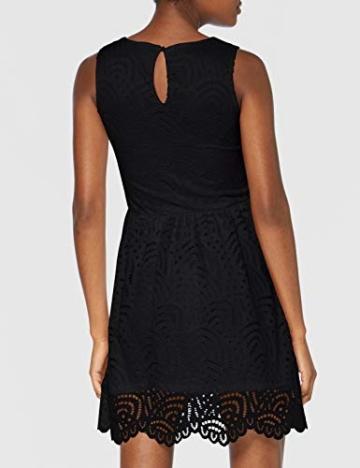 ONLY Damen Onledith S/L Dress JRS Noos Kleid, Schwarz (Black Black), 38 (Herstellergröße: M) - 4