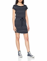 ONLY Damen Onlmay S/S Dress Noos Kleid, Mehrfarbig (Night Sky Stripes:Primo Stripe CL. Dancer), (Herstellergröße:M) - 1