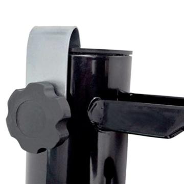 Schirmhalter Stahl Angelrutenhalter schwarz - 2