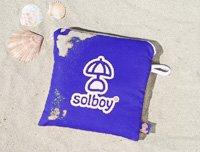 SOLBOY - Der Sonnenschirmhalter, innovativer Schirmständer für den Strandschirm (SONDEREDITION BLAU). Hochwertige… - 5