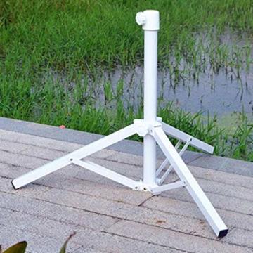 Stahl Sonnenschirmhalter Balkonschirmständer Schirmständer Sonnenschirmständer für 22-25 mm Stangen - 4