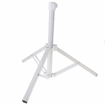 Stahl Sonnenschirmhalter Balkonschirmständer Schirmständer Sonnenschirmständer für 22-25 mm Stangen - 7