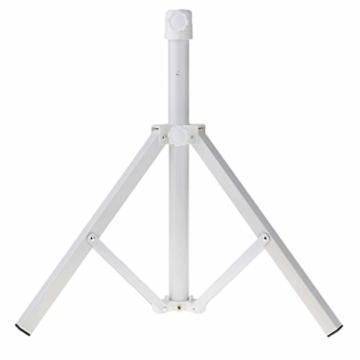 Stahl Sonnenschirmhalter Balkonschirmständer Schirmständer Sonnenschirmständer für 22-25 mm Stangen - 9