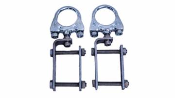 STORM-PROOF - Sonnenschirmhalter für rechteckige Geländer, Schirmstockdurchmesser von 32mm bis 38mm, stabile 2-Punkt-Befestigung komplett aus Stahl - 3