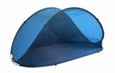Strandmuschel Pop Up Strandzelt Dunkelblau Polyester blitzschneller Aufbau Wetter- und Sichtschutz Duhome 5063 - 1