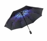 TYZXR Winddichter Regenschirm Compact, zusammenklappbarer Regenschirm Compact Golfschirm für Sun Rain Outdoor Beach, Beste kleine Geschenkidee für Mann & Frau (Farbe: # 1) - 1