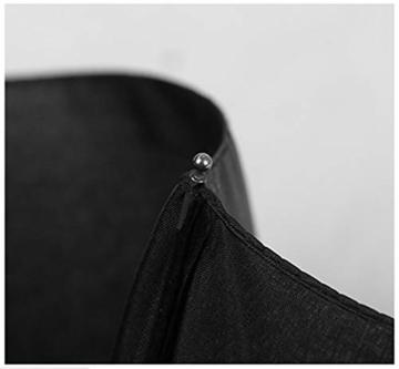 TYZXR Winddichter Regenschirm Compact, zusammenklappbarer Regenschirm Compact Golfschirm für Sun Rain Outdoor Beach, Beste kleine Geschenkidee für Mann & Frau (Farbe: # 1) - 5